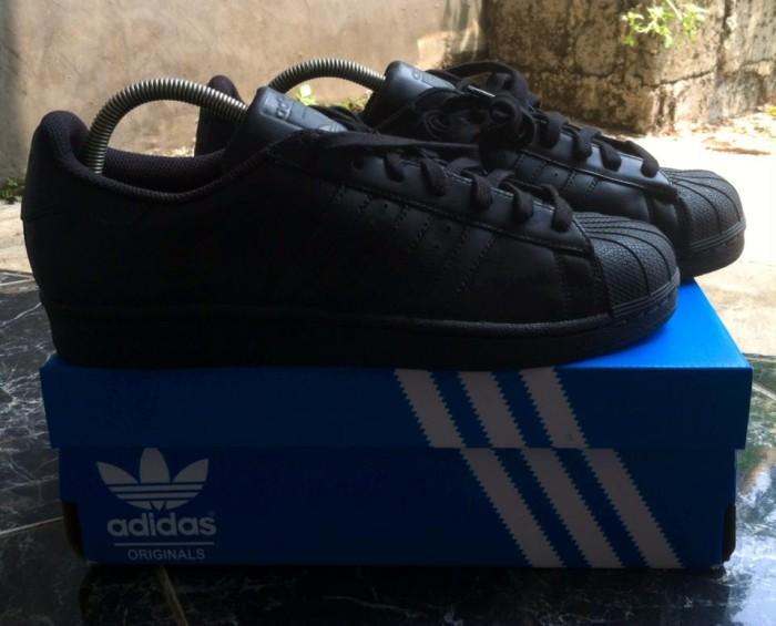 Black Sneakers Tokopedia Rawk Superstar Jual Full Adidas qUtSSf