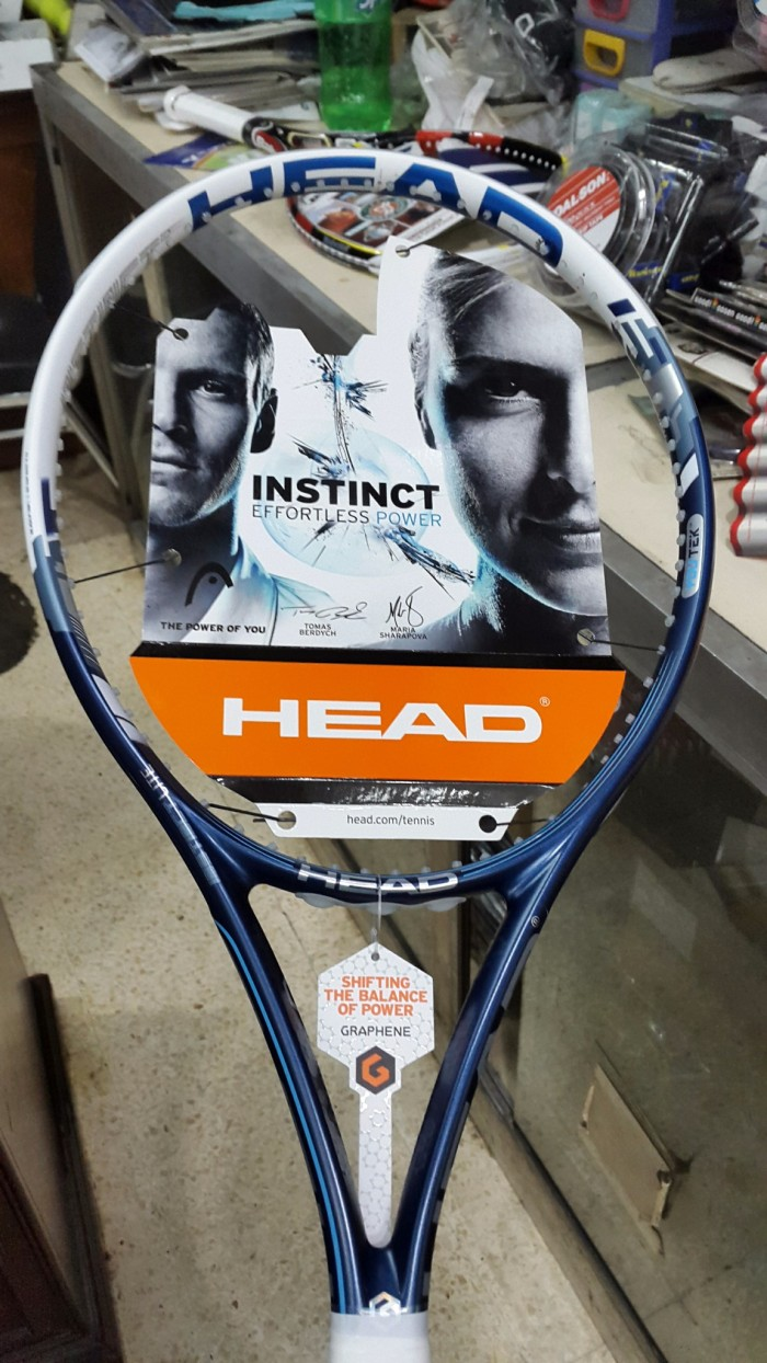 harga Raket tenis head instinct graphene 100% new & original ( promo ) Tokopedia.com