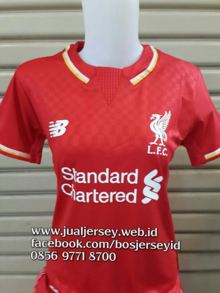 0e12fbd28 Jual Jersey Liverpool Ladies Home 2016