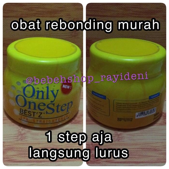 Jual obat rebonding pelurus rambut one step satu step murah - Bebeh ... 39e55b05a3