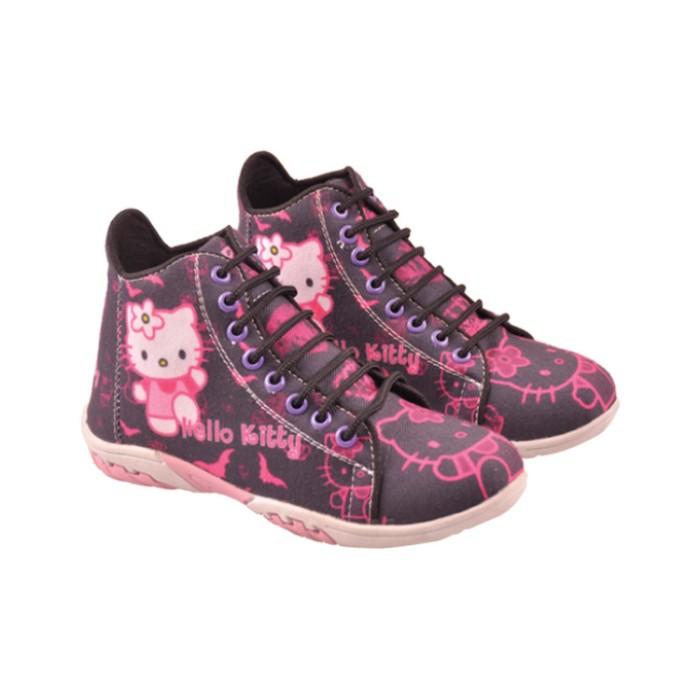 harga Sepatu casual anak perempuan /boot anak motif hello kitty rnc 009 Tokopedia.com
