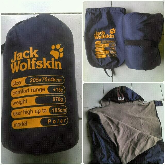 27b3a86b75b Jual jack wolfskin sleeping bag dijamin hangat - Jakarta Selatan ...