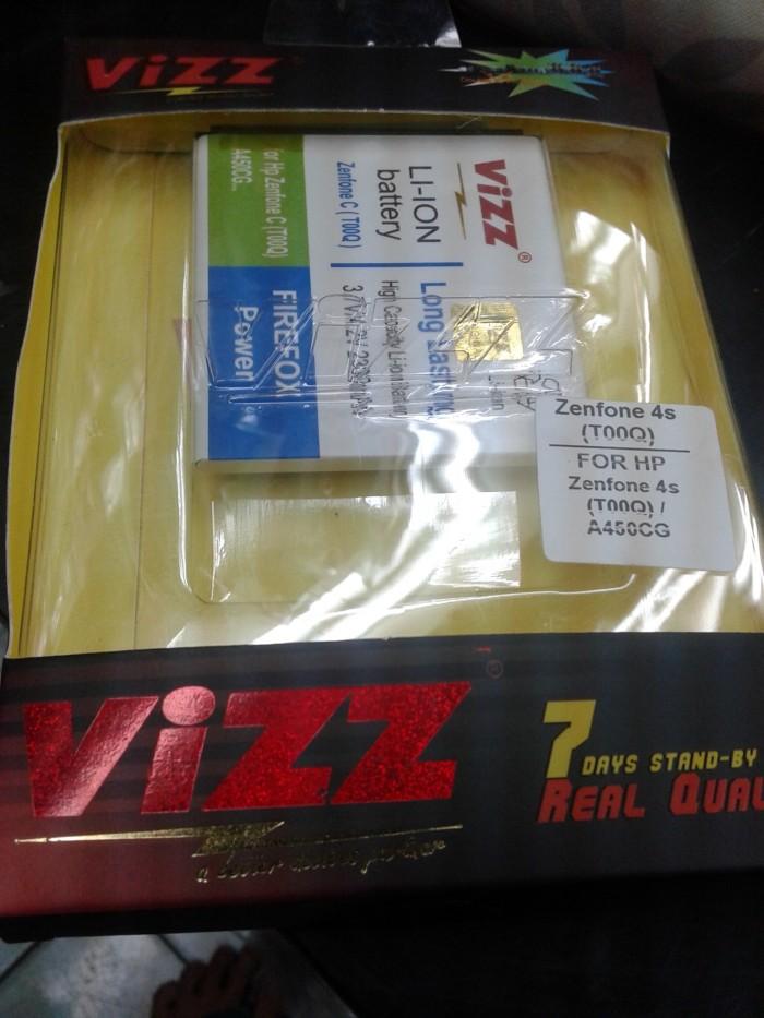 harga Baterai vizz double power 2300mah for asus zenfone 4s (t00q/a450cg) Tokopedia.com