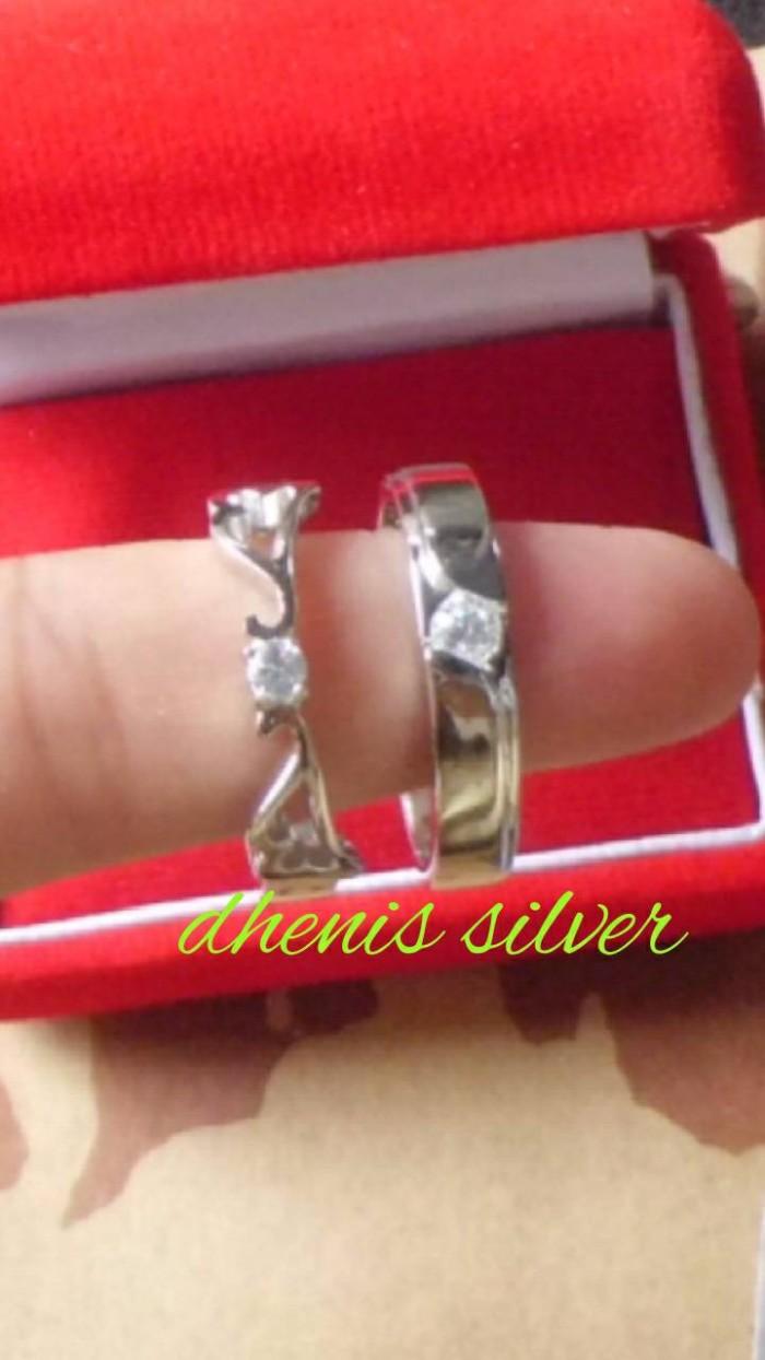 Jual Cincin Kawin Nikah Tunangan Pasangan Couple Dhenis 6 Kota Yogyakarta Dhenis Silver5
