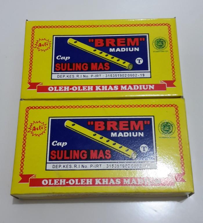 harga Brem madiun cap suling mas 350 gr - oleh oleh kediri Tokopedia.com