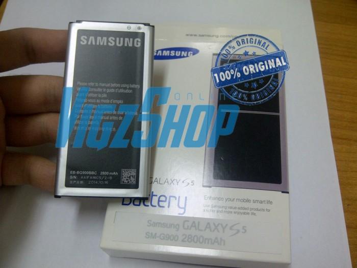 Baterai Battery Samsung Galaxy S5 G900 Original 100%