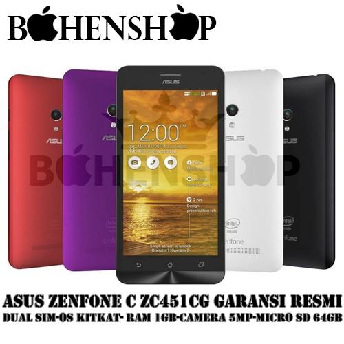 harga Asus zenfone c zc451cg garansi resmi Tokopedia.com