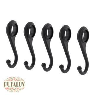 Ikea fintorp pengait / gantungan hitam, 7cm isi 5pcs