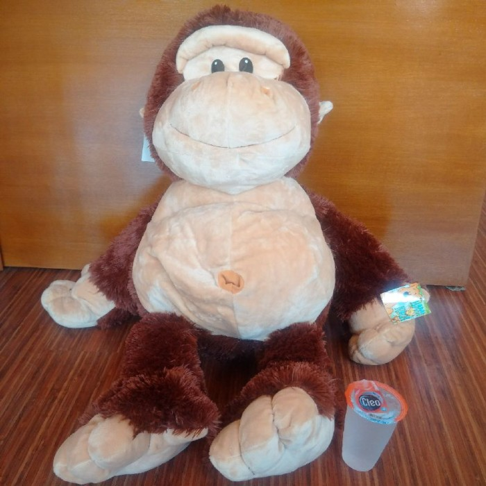 harga Boneka gorilla / monyet brown xl Tokopedia.com