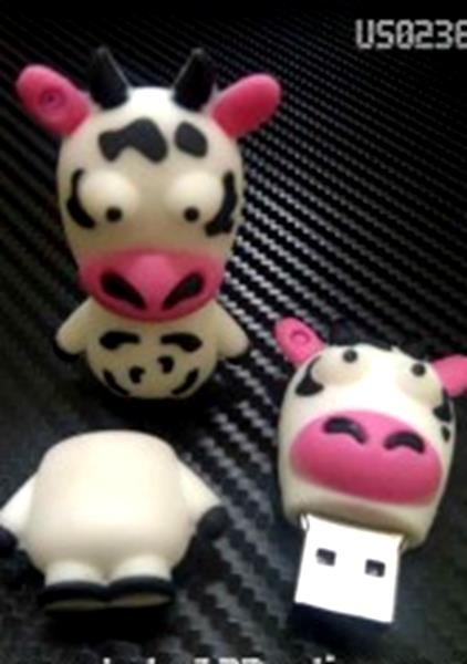 harga 2289 usb flashdisk unik boneka karakter lucu sapi - bus0236 - 8gb Tokopedia.com