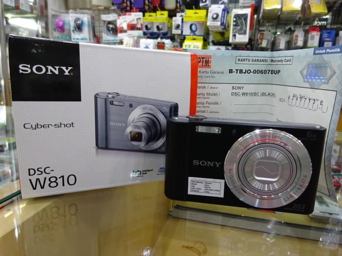 harga Sony cyber-shot dsc-w810 20.1mp Tokopedia.com