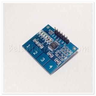 harga Keypad ttp224 digital touch sensor module 4 button Tokopedia.com