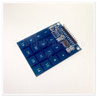 harga Keypad ttp229 digital touch sensor module 16 button Tokopedia.com