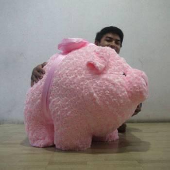 harga Boneka babi pink giant Tokopedia.com