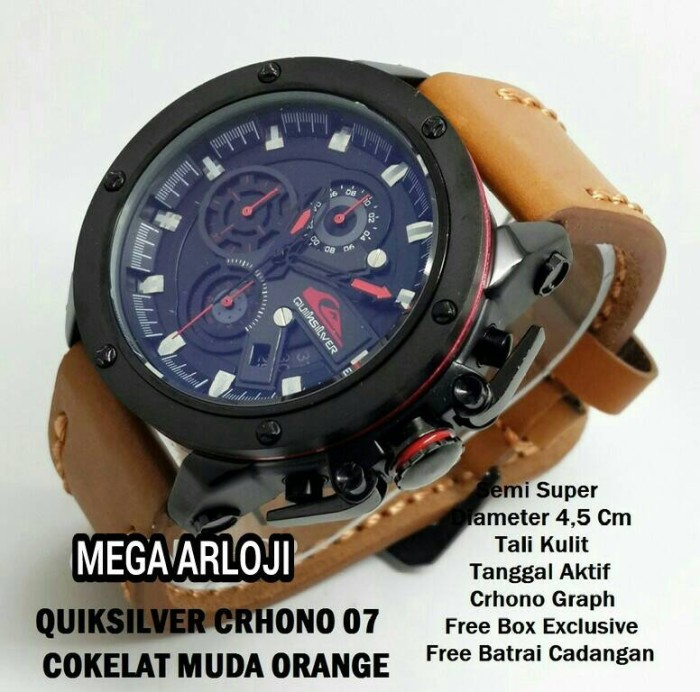 harga Jam tangan quicksilver collorado chrono super Tokopedia.com