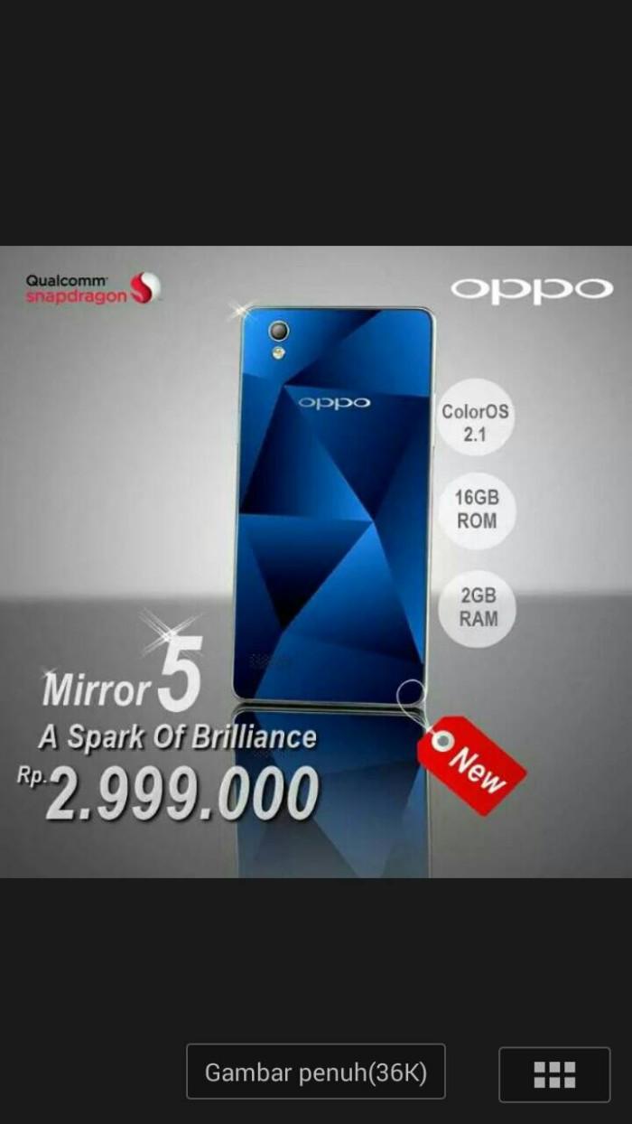 Jual New Oppo Mirror 5 Mega Selindo Tokopedia 16gb