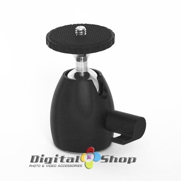 harga 360 mini 1/4  screw tripod ball head mount for dslr camera camcorder Tokopedia.com