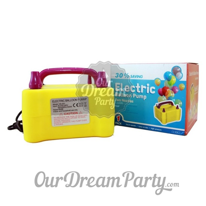 harga Pompa listrik 2 lubang / pompa balon Tokopedia.com