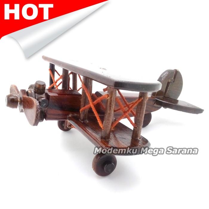 harga Miniatur pesawat capung kayu 21x18x9 cm Tokopedia.com