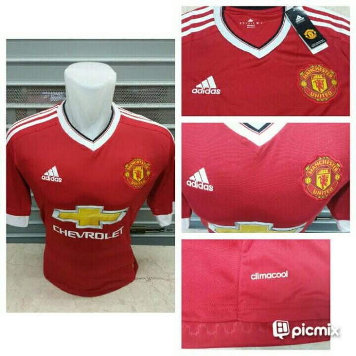 Jersey Baju Bola Grade ORI Manchester United Home Official 2015-2016