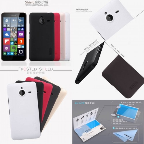 cheap for discount 3d1fa ca082 Jual Nillkin Hard Case Microsoft Lumia 640 XL - Juragancasehp | Tokopedia