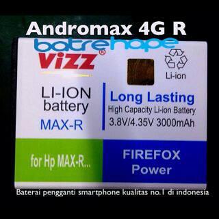 harga Baterai battery double power smartfren andromax r vizz 3000mah Tokopedia.com