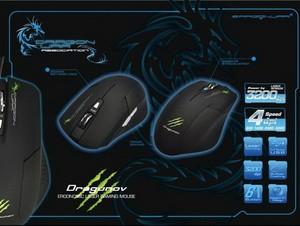 Foto Produk DragonWar Dragunov 3200dpi Macro Gaming Mouse Free Mousepad dari Esports Gaming