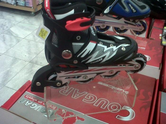 Jual Sepatu Roda inline skate merk Cougar Original - sepatu roda ... 665f3a696e