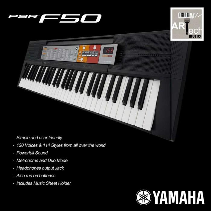 jual keyboard yamaha psr f50 psrf50 psr f50 arttech. Black Bedroom Furniture Sets. Home Design Ideas