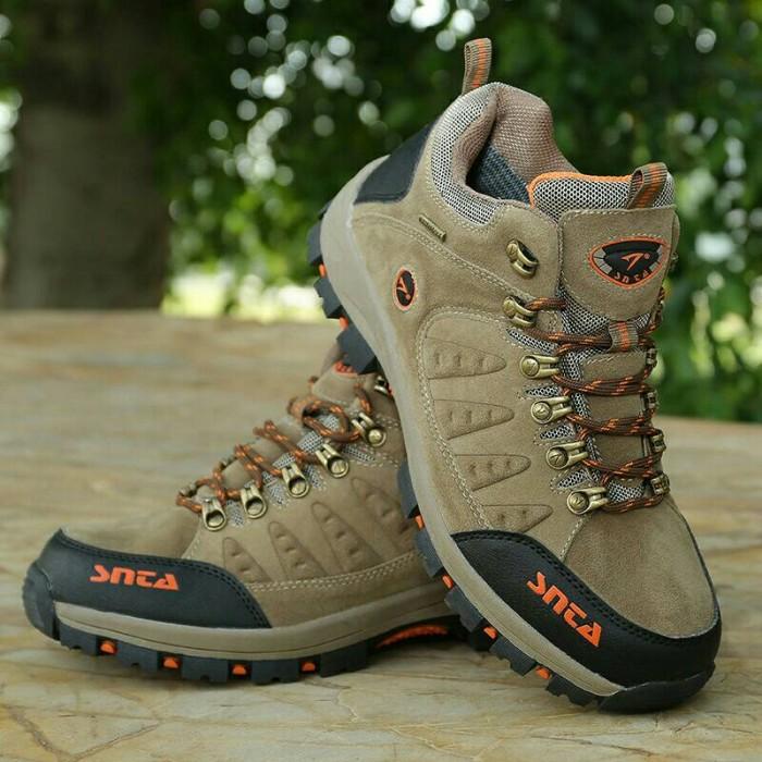 harga Sepatu Snta Seri 470b Beige Tokopedia.com