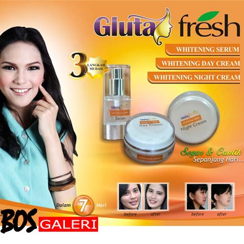 Cream Gluta Fress | Krim Gluta Fresh 3 in 1