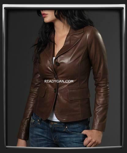 harga Jaket kulit wanita keren blazer jacket semi sintetis imitasi kulit Tokopedia.com