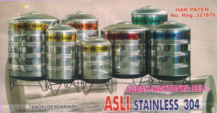harga Tangki Air Stainless Profil Tank Ps 3900 Kaki / Toren / Tandon Tokopedia.com
