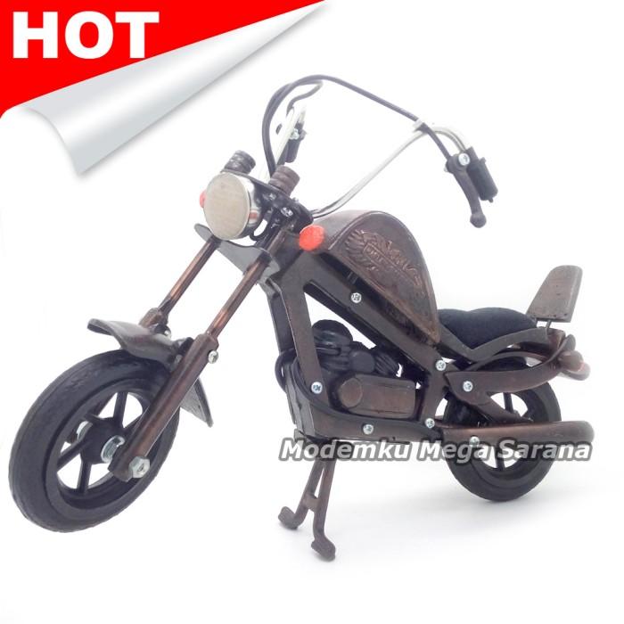 harga Miniatur motor harley davidson logam 28x13x20 cm Tokopedia.com