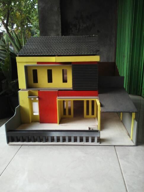 Miniatur Rumah Dari Triplek | Desain Rumah Minimalis 2019
