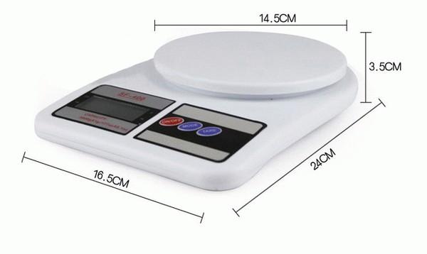 Timbangan Dapur Elektrik Max 5kg Kue Harga Murah