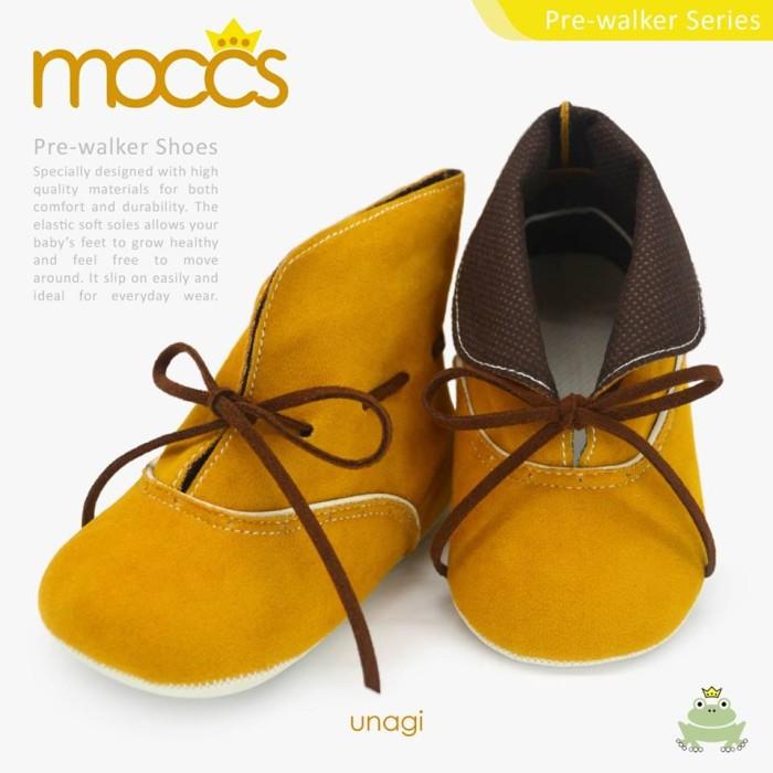 harga Freddie the frog prewalker shoes - unagi moccs | sepatu bayi Tokopedia.com