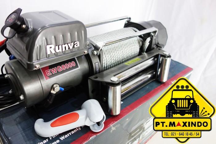 harga Runva winch ewg-8000 kapasitas 36 ton Tokopedia.com