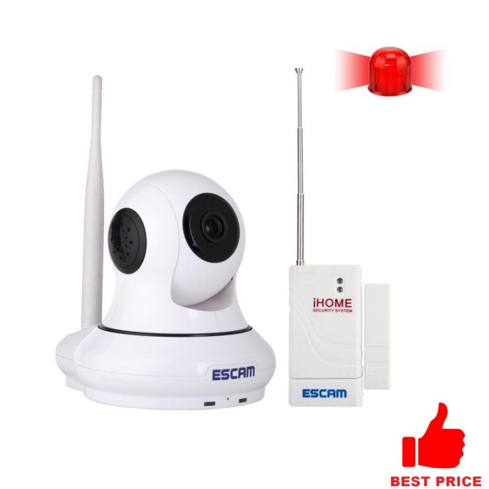 Foto Produk ESCAM Patron QF500 Wireless IP Camera CCTV for Android and iOS 1/4 Inc dari ogahrepot