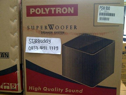 harga Subwoofer polytron psw-800pmpo 1100.suara mantap Tokopedia.com