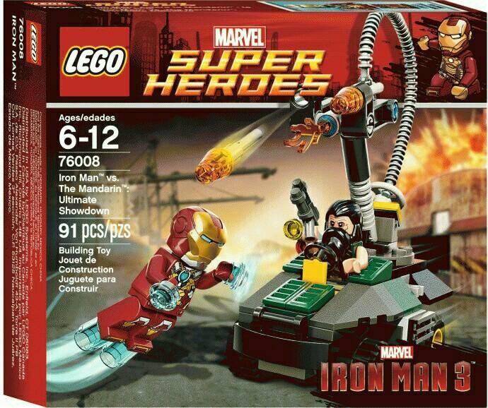 harga Lego ori ironman vs mandarin iron man super heroes tanpa minifigures Tokopedia.com