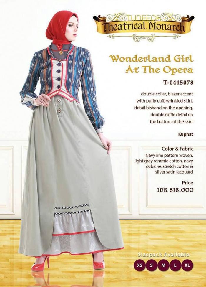 Jual Tuneeca Busana Muslim Mewah Baju Muslim Elegan Baju Pesta Hijab