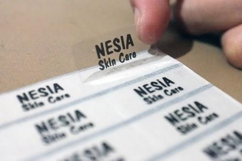 harga Transparent sticker medium name label. putih susu / hologram / bening transparan. untuk anak & dewasa buku, tas, hp, hadiah Tokopedia.com