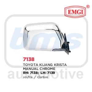 harga Spion Emgi Toyota Kijang Krista 1997 - 2002 Krom Manual Lh Tokopedia.com