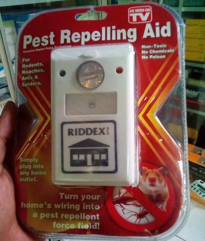 harga Riddex pest controller/alat pengusir tikus/hama kecoa/nyamuk/serangga/as seen on tv original Tokopedia.com
