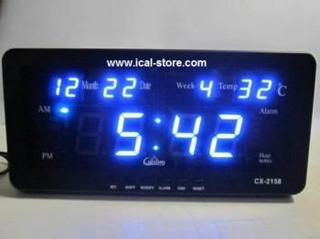 harga Jam dinding digital led tipe cx 2158 biru Tokopedia.com