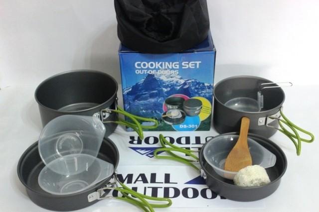 Foto Produk Nesting /cooking Set Outdoor DS-301 / Ultralight / dari Mall Outdoor