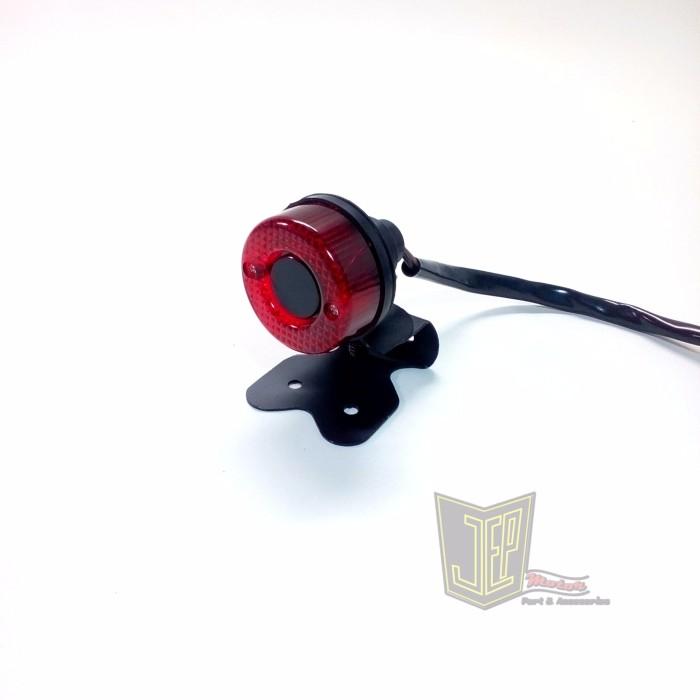 harga Stoplamp japstyle model donat dengan dudukan Tokopedia.com