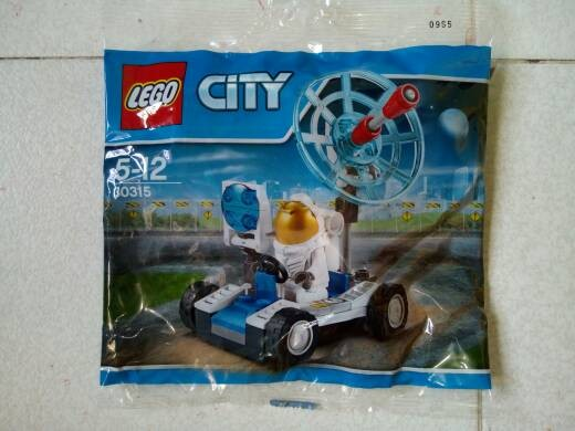 Lego city 30315 space utility vehicle. polybag