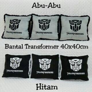 harga Bantal jok mobil / bantal kursi sofa transformers abu-abu / hitam Tokopedia.com